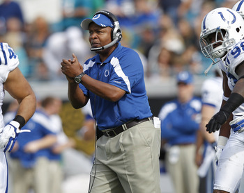 Jim Caldwell led the Colt's to a dismal 13-3 season