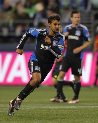 Chris Wondolowski will benefit from Sam Garza & Jacob Hustedt in the midfield.
