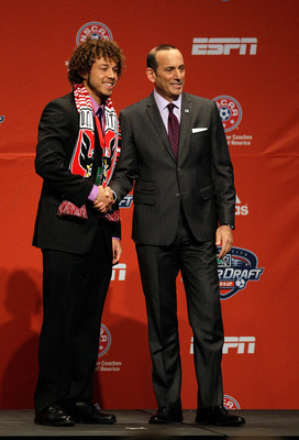 Nick DeLeon was D.C. United's only selection in the 2012 Superdraft.