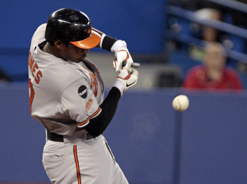 The Braves looked into acquiring Adam Jones this winter.
