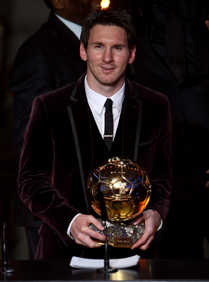 2011 Ballon d'Or winner Leo Messi