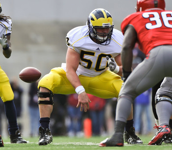 Michigan Center David Molk