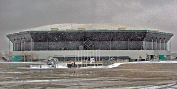 Silverdome in 2006 (Dave Hogg/Wikimedia Commons)