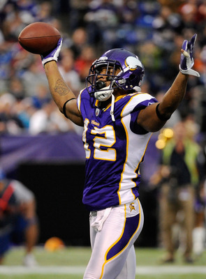 The Vikings need to find another recevier to complement Percy Harvin.