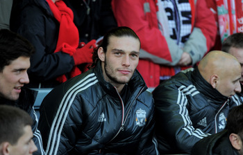 Bench duty for Andy Carroll