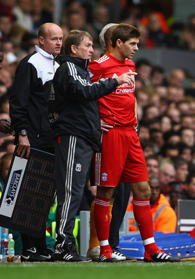 Kenny Dalglish and Steven Gerrard will have vital roles to play in Carroll's development