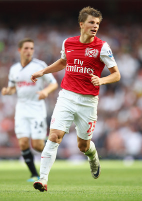 Arshavin scored Arsenal's lucky goal in the first encounter against Swansea