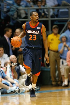 Jeff Jones transferred to Rider after three years with Virginia.