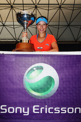 Jie Zheng won the ASB Classic