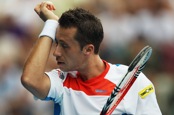 Philipp Kohlschreiber has never lost in the first round at the AO.