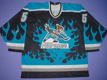 Image Source: http://www.hockeyjimm.com/jerseys/IHL/images/55_Roadrunners_f.jpg