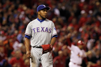 Neftali Feliz moving to the rotation highlights a list of changes in the Texas bullpen.