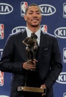Derrick Rose received the highly coveted MVP trophy for his unbelievable 2010-2011 season
