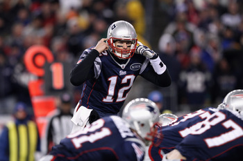 Tom Brady leads the Patriots in a rout of the Broncos in the 2012 playoffs