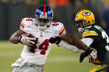 Ahmad Bradshaw did not play in the first meeting of these two teams