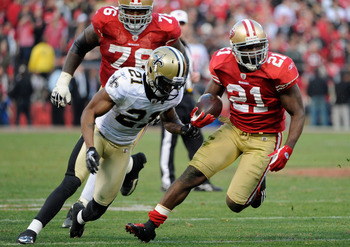 Frank Gore is looking to have a big game against the Giants