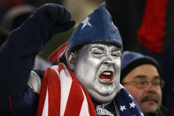 How can a guy with enough jingoistic chutzpah to actually paint his face silver not be mean?