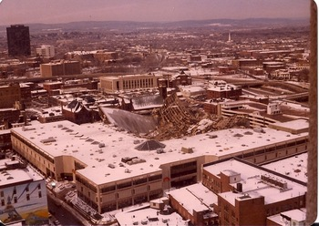 The Hartford Civic Center in 1978 (Courtesy of Sad City Hartford)