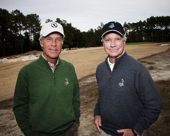 Ben Crenshaw & Bill Coore (photo credit: John Gessner)