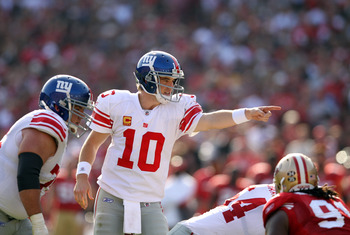 Eli Manning has his sights set on Indianapolis.