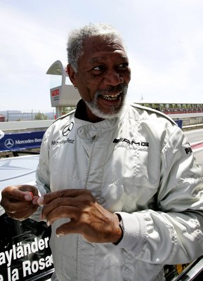When he's not getting ready to jump in race cars, Morgan Freeman is one of the best voices in Hollywood.