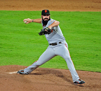 Brian Wilson was a post-season hero in 2010.