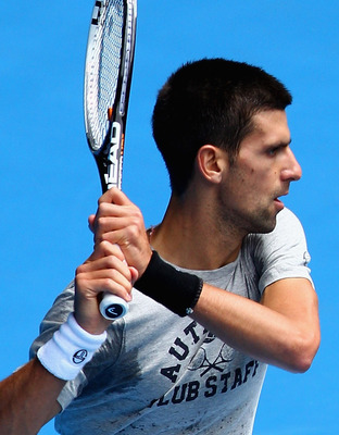 Once a point is on neutral terms, it's advantage, Djokovic.