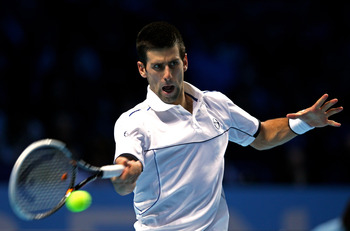 Djokovic is also the game's best returner.