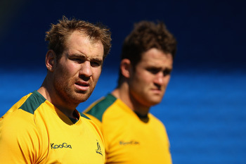 The latest men to captain the Wallabies