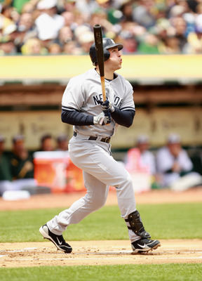 The switch-hitting Teixeira has plenty of power from both sides.