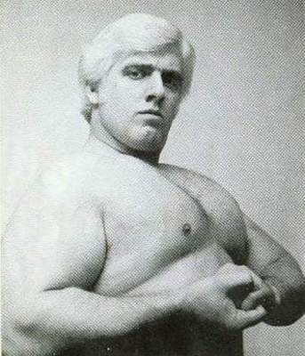 Ric Flair before the 1975 plane crash.