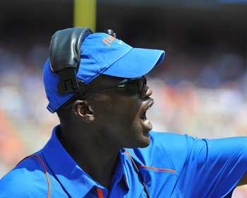 Aubrey Hill is Florida's recruiting coordinator.