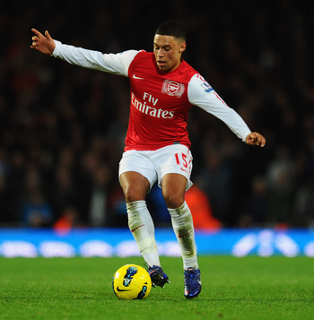 Oxlade-Chamberlain has earned his place in the Arsenal lineup.
