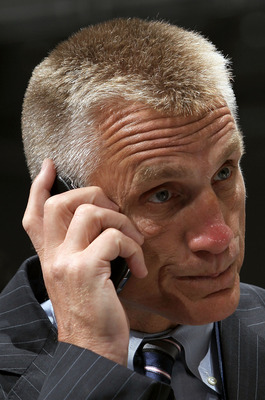 Paul Holmgren may be doing this frequently from now until February 27th.
