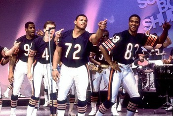 The 1985 Bears do the Super Bowl Shuffle