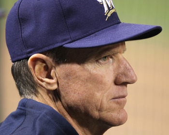 Prince's manager in Milwaukee Ron Roenicke had to make multiple switches and liberally use pinch hitters.