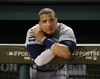 Victor Martinez will miss all of 2012 while recovering from ACL surgery but the Tigers will still pack plenty of punch.