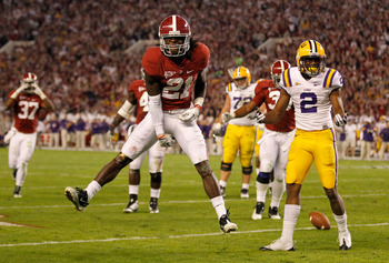 Dre Kirkpatrick of Alabama