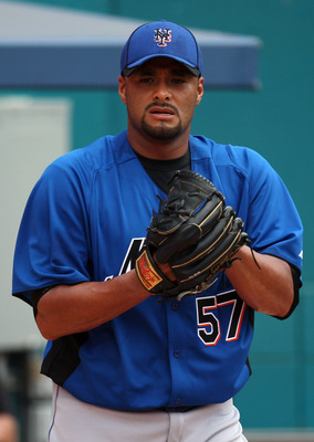 Johan Santana is getting ready for a healthy season