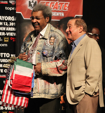Don King and Bob Arum