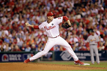 Roy Halladay looks to lead a stacked Phillies team back to the playoffs in 2012