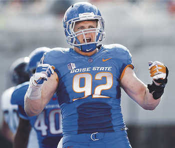 Boise State's OLB/DE Shea McClellin