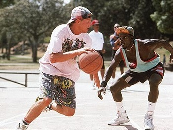 Billy Hoyle and Sidney Deane in White Men Can't Jump