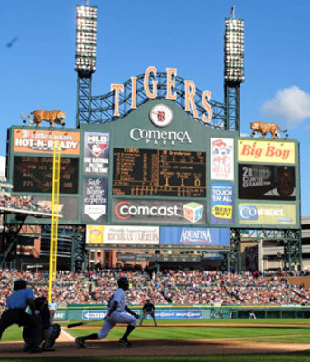 Can Comerica Park hold Fielder?
