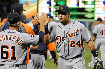 Look for the Detroit Tigers to run away with the AL Central again in 2012.