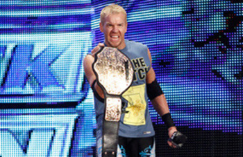Christian as World Heavyweight Champion.
