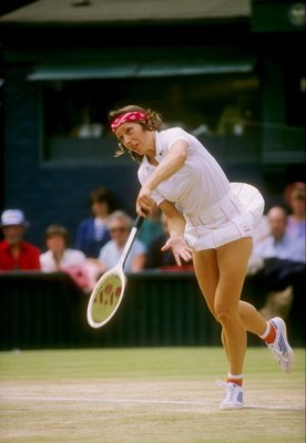 Martina Navratilova in 1981