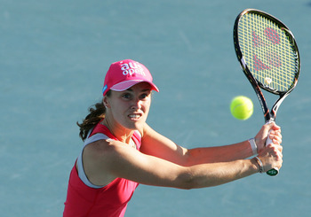 One of the tournament's greatest champions: Martina Hingis