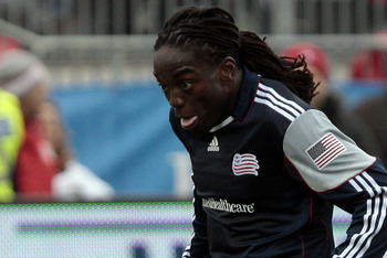 Shalrie Joseph returns as a designated player for the New England Revolution.