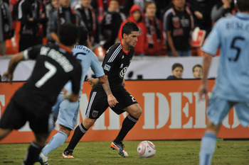Perry Kitchen and D.C. United open up 2012 against Sporting Kansas City.